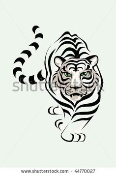Tiger     Google Image Result for http://thumb1.shutterstock.com/display_pic_with_logo/435955/435955,1263840685,8/stock-vector-the-white-tiger-is-stolen-a-vector-illustration-44770027.jpg