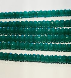 Emerald Beads, Natural Emerald Beads, Gemstone Beads, Wholesale Beads, Faceted Emerald Beads, Jewelry Supplies, Beading Supplies, 1 Strand by AkstarBeadsandCharms on Etsy
