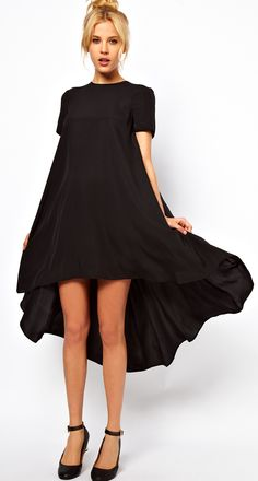 I love the flow and shape of this dress.  Not my normal style but I think it would be great with gladiator sandals.
