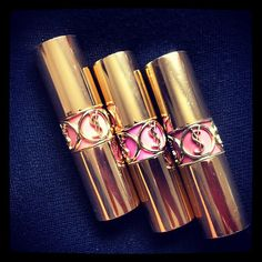 YSL has some of the prettiest lipstick tubes