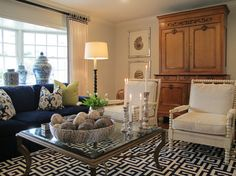 Blue and cream boat on pinterest blue bedrooms black for Navy blue and cream living room ideas