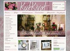 KukKivat on maalaisromanttinen sisustusliike ja kukkakauppa