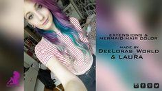 ✿ Brasilianische Haarverlängerung ✿ DIY Extensions Mermaid Hair ✿ Beleza-Styling Berlin