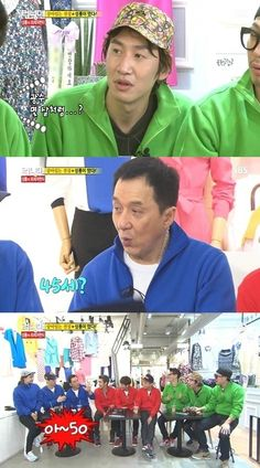 "Episode 135. Jackie Chan was asked how old he thought Kwang Soo was and said ""45? 50?"" Poor Kwang Soo was humiliated! Jackie was hilarious throughout the episode! :)"