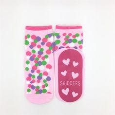 Skidders Socks - Bubble Polka