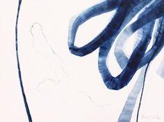 "Saatchi Art Artist Jessy Cho; Painting, ""Wind Blue 72"" #art"