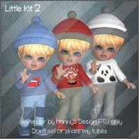 Little Kit 2 [Hanny's Designs] - $1.20 : LowBudgetScrapping