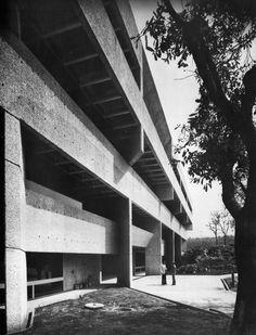 El Colegio de México, Mexico City, Mexico, 1975 (Abraham Zabludovsky and Teodoro González de León)