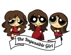 The Impossible Girl with Dalek!Clara, Victorian Clara, and Modern Day Clara #doctorwho