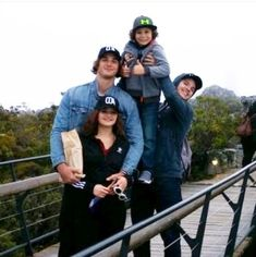 Jacob, Joey, Joel and Carson