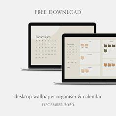 Free desktop wallpaper   organiser & calendar   PIXEL BOUTIQUE