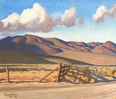Nevada Hills by Maynard Dixon Giclee Canvas Print Repro Abstract Landscape, Landscape Paintings, Landscapes, Abstract Paintings, Art Paintings, Maynard Dixon, Southwestern Art, California Art, Pasadena California