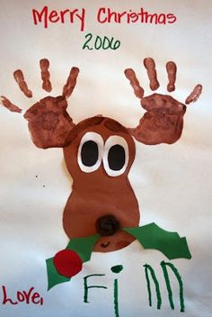 preschool christmas crafts - Google Search