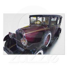 Oldtimer car print