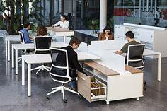 Programa de mobiliario Spine de Actiu, o cómo van a ser las oficinas del futuro. | diariodesign.com