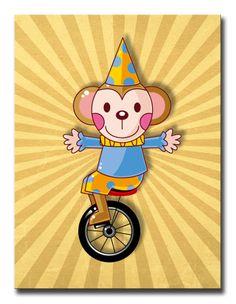 35053983 / Cuadro Mono circo