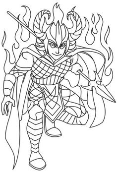 free loki coloring pages - photo#21