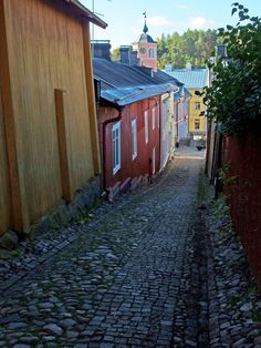 Ralinginkuja, Vanha Porvoo Alaska, Perfect Place, The Good Place, Landscape Pictures, Old Buildings, Denmark, Norway, Facade, Places To Go