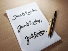 2013 Calligraphy & Lettering Collection on Behance