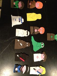 Our Home-made Finger Puppets