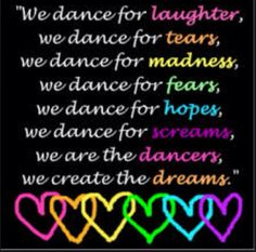 We r the DANCERS, We create the DREAMS!!