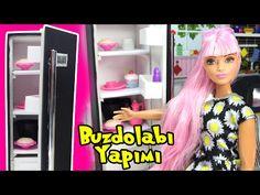 Barbie Evi Mutfak Eşyaları Yapımı - Kahve Makinesi - Kolay Barbie Eşyası - Oyuncak Yap - YouTube