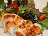 Dijon and parmesan chicken