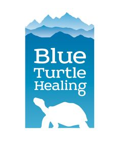Blue Turtle Healing's logo designed by Boire Benner Group