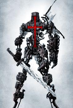 The Crusader by naratani.deviantart.com on @deviantART