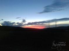 Con estos amaneceres si que da gusto empezar el día #msoqueruela