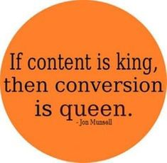 #Marketing #Quote: If #Content is King, then Conversation is Queen. #contentmarketingquotes