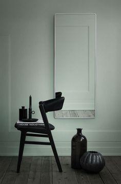 basil green pencil: VIPP Mirrors: The Modern Charm Minimalist Scandinavian, Scandinavian Interior, Contemporary Interior, Scandinavian Style, Interior Design Vignette, Interior Styling, Interior Decorating, Design Blog, Deco Design