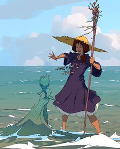 Seawitch Apprentice by Varguy.deviantart.com on @DeviantArt