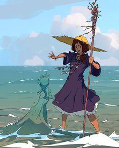 Seawitch Apprentice by Varguy on DeviantArt