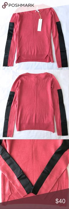 Selling this NWT BCBG Knit Sweater Tops Rose XXS on Poshmark! My username is: mih03. #shopmycloset #poshmark #fashion #shopping #style #forsale #BCBGeneration #Sweaters