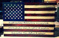 2nd Amendment Deluxe - Concealment Flag (Hidden Compartment)
