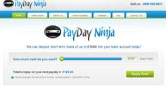 http://www.paydayninjauk.co.uk - instant payday loans Come and check out our website. https://www.facebook.com/bestfiver/posts/1428292000717104
