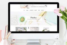 Paisley WordPress Theme ~ WordPress Blog Themes on Creative Market
