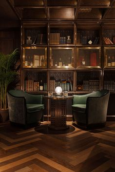 Speakeasy/Whiskey Bar Foxglove in Hong Kong - The Cool Hunter