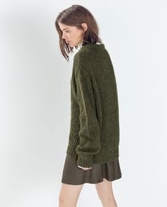Image 3 of CREW-NECK SWEATER from Zara