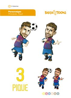 Barça toons guía de estilo | Ciscu Design