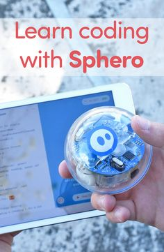 Kids ages 8 and up can learn about computer programming with Sphero's SPRK+!