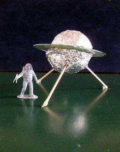 Activities: Create a CD Spaceship