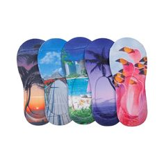 Womens Tropical Liners 5 Pack