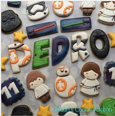 "Madri Mahtani on Instagram: ""Happy 11th birthday Pedro! #madriscookiekitchen #decoratedcookies #grandrapidsmi #grandrapids #starwars #bb8"""