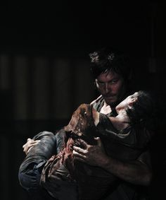 one of my favourite episodes in the series...too bad no daryl in the comics because i would have loved these two together!!