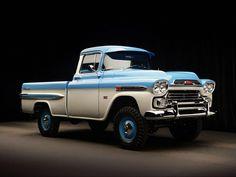 Chevrolet 3100 Pickup Deluxe, 1959.