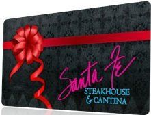 Santa Fe Steakhouse  Cantina Gift Certificate 50 * You can find out more details at the link of the image.Note:It is affiliate link to Amazon. #trendy