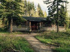 Maude Noble cabin. Menors Ferry -Grand Teton National Park