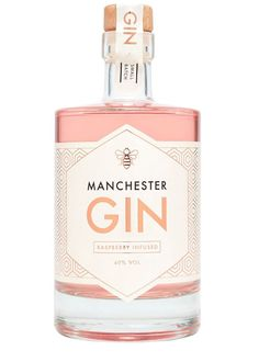 Perfect for the Mob Mum -- Manchester Gin - Raspbery Infused Gin  Manchester Gin is a small batch premium gin which was launched in 2016. With a true nod to its namesake city, the recipe has incorporated local and northern flavours and botanicals such as dandelion and burdock root, to make an easy drinking yet flavoursome craft gin.